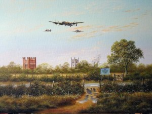 BBMF Over the Castle