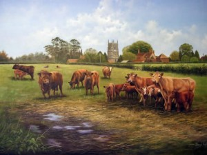 Cattle at West Ashby