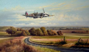 Spitfire Over Old Bolingbroke